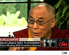 Larry King Live, Dalai Lama