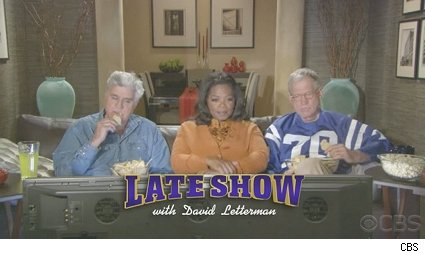 Leno/Oprah/Letterman promo for the 'Late Show'