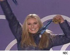 2010 Winter Olympics, Lindsey Vonn