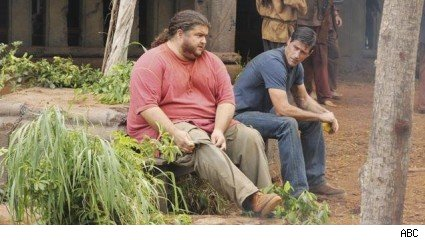 Jorge Garcia &amp; Matthew Fox, 'Lost' - 'Lighthouse'