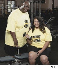 O'Neal and Sunshine Hampton, 'The Biggest Loser 9'