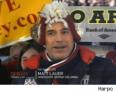 Oprah Winfrey, Matt Lauer, Olympics Souvenirs