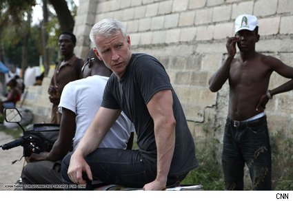 Anderson Cooper Back in Haiti