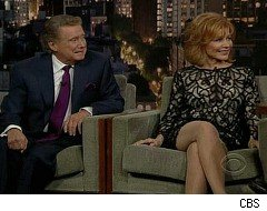 Regis and Joy Philbin, Late Show with David Letterman