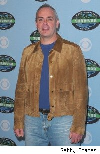 Richard Hatch attends 10th Anniversary party for 'Survivor' in January 2010