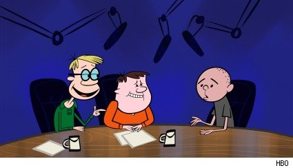 Scene from 'The Ricky Gervais Show'