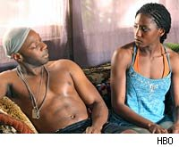 Rutina Wesley and Nelsan Ellis