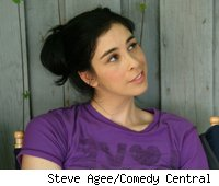 Sarah Silverman on The Sarah Silverman Program