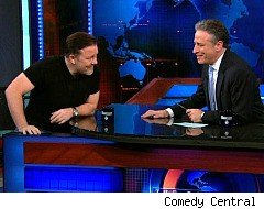 The Daily Show With Jon Stewart, Ricky Gervais