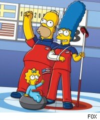 'The Simpsons' - 'Boy Meets Curl'