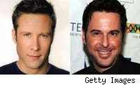 Michael Rosenbaum and Jonathan Silverman