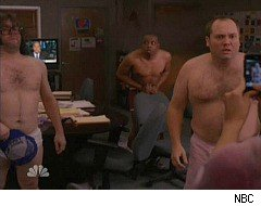 30 Rock, the writers get naked