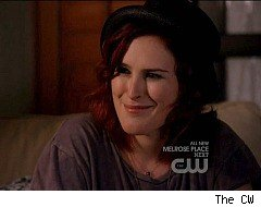 90210, Rumer Willis, girl kiss