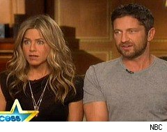 Access Hollywood, Jennifer Aniston, Gerard Butler