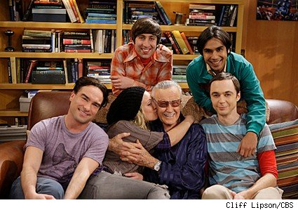big bang theory, stan lee