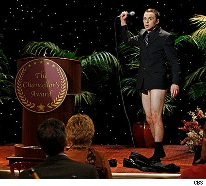big bang theory sheldon no pants