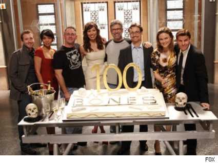 Bones 100th Cake