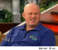 Matt Lucas Caught with His Fly down on 'Bonnie Hunt'