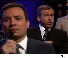 Brian Williams Slow Jams News on 'Late Night'