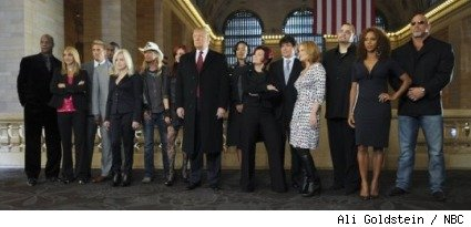 Season 9 cast of 'The Clebrity Apprentice'