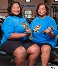 Victoria &amp; Cherita Andrews, 'The Biggest Loser: Couples 3'
