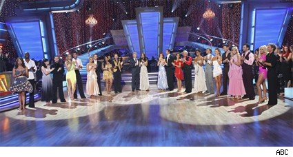 The cast of dancing with the stars season 10.