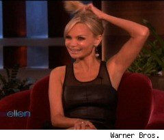 Kristin Chenoweth Talks About Twittering While on Drugs, on 'Ellen'