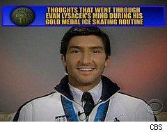 Evan Lysacek, Top Ten List, David Letterman