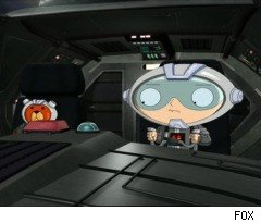 Stewie's 'Star Wars' Fantasy on 'Family Guy'