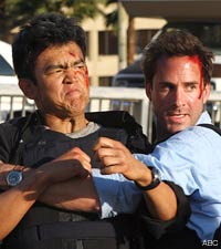 John Cho and Joseph Fiennes