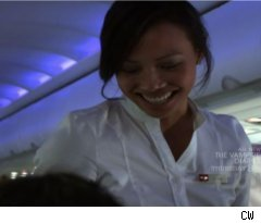 In-flight Flirting on 'Fly Girls'
