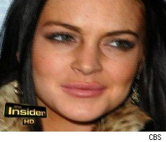 Lindsay Lohan's White Powder on 'The Insider'