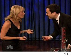 Jimmy Fallon, Chelsea Handler, Blood
