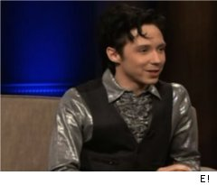 Johnny Weir Talks Evan Lysacek on 'Chelsea Lately'