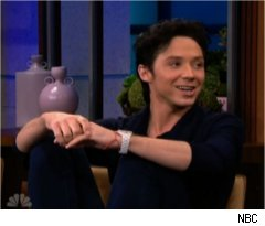 Johnny Weir Shares Childhood on 'Tonight Show'