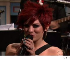 Lacey Brown on Late Show with David Letterman