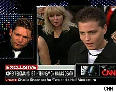 Larry King Live, Corey Feldman on Corey Haim's Death