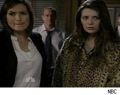 Law and Order: SVU, Mischa Barton, Delaney Williams