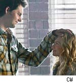 Britt Robertson and Kristoffer Polaha in Life Unexpected
