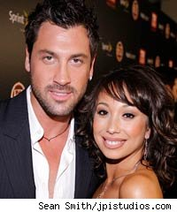 Maksim and Cheryl