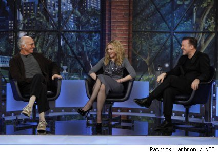 Larry David, Madonna, and Ricky Gervais on 'The Marriage Ref'