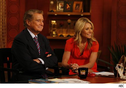 Regis and Kelly helped John Walsh bring down a wanted killer.