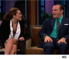 Miley Cyrus, Tom Papa on 'Tonight Show'