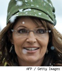 Sarah Palin at book signing for