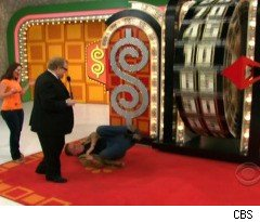 Contestant Falls Down on 'The Price Is Right'