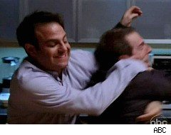 Private Practice, Cooper and Sheldon fight