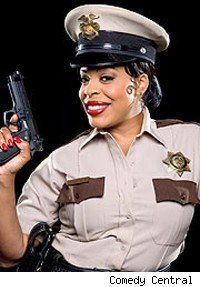 Niecy Nash as Deputy Raineesha Williams on Reno 911