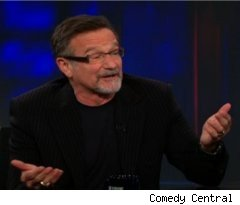 Robin Williams on 'The Daily Show with Jon Stewart'