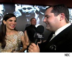 Ross Matthews interviews stars at the Oscars