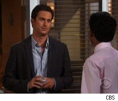 Adam Posing on 'Rules of Engagement'